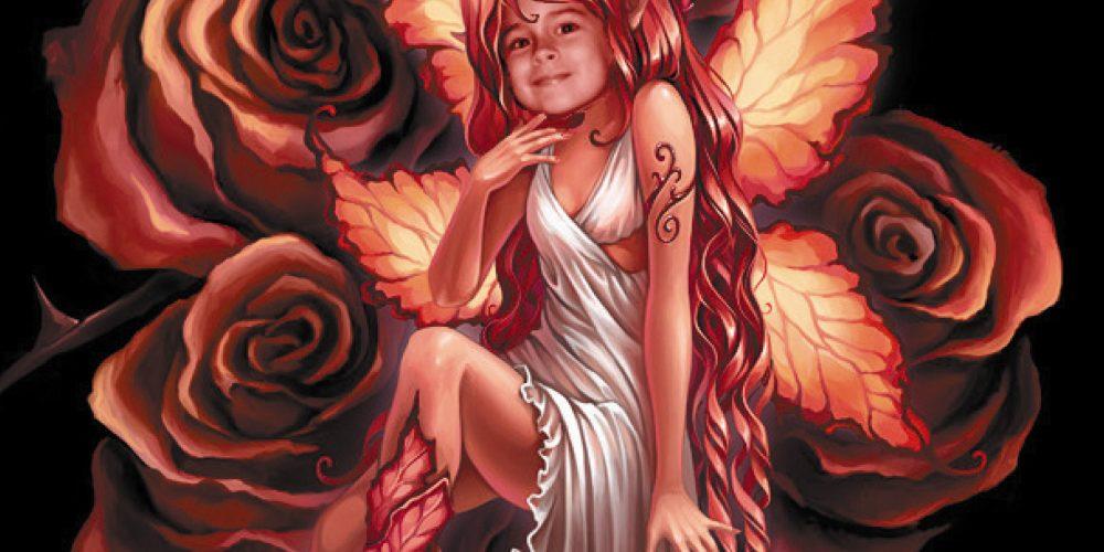 María, el hada de los ojos de gitana