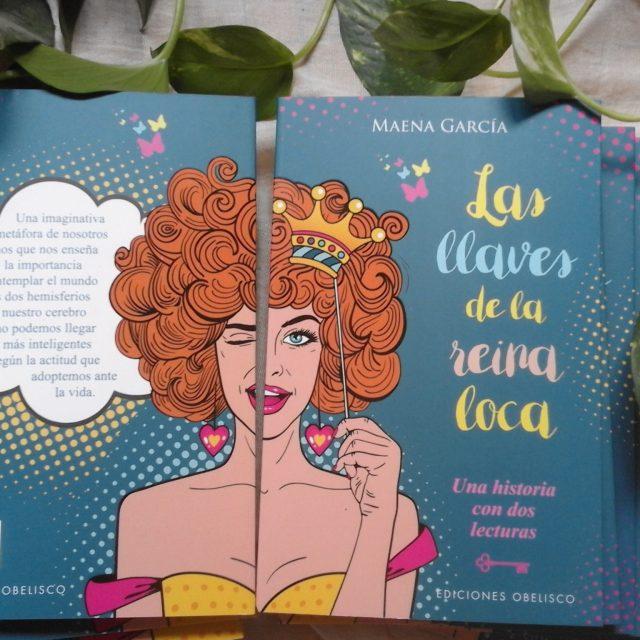 Primeros ejemplares de LAS LLAVES DE LA REINA LOCA