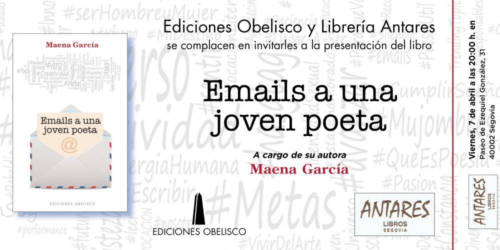Presentación en Segovia y Valladolid